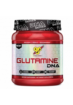 Glutamine DNA Unflavored 300 гр - 0,6 lb (BSN)