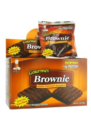Tri-O-Plex Brownies 12 шт 85 гр (Chef Jay's)