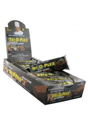 Tri-O-Plex Bars 12 шт 118 гр. (Chef Jay's)