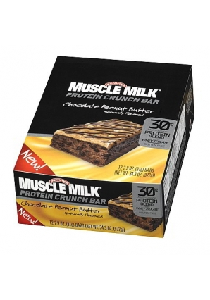 Muscle Milk Protein Crunch Bar 12 шт 81 гр (Cytosport)