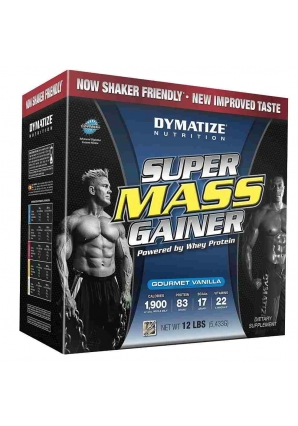 Super Mass Gainer 5443 гр. 12lb (Dymatize)