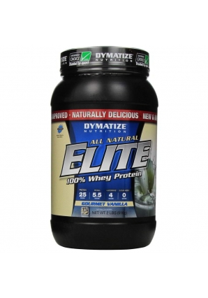 All Natural Elite Whey Protein 916 гр. 2lb (Dymatize)