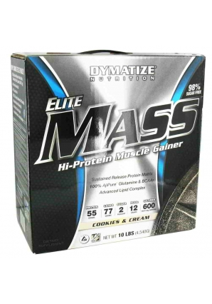 Elite Mass Gainer 4540 гр 10lb (Dymatize)