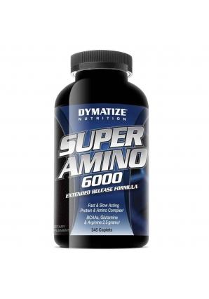 Super Amino 6000 345 табл. (Dymatize)