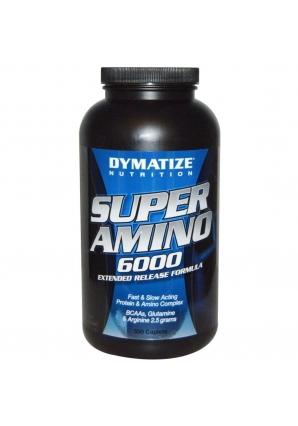 Super Amino 6000 500 табл. (Dymatize)