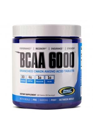 BCAA 6000 180 табл. (Gaspari Nutrition)