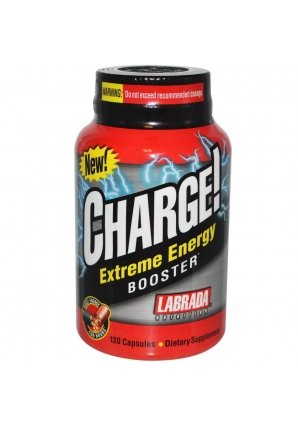 Charge! Extreme Energy Booster 120 капс (Labrada)