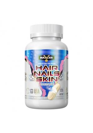 Hair, Nails, Skin Formula 120 табл (Maxler)