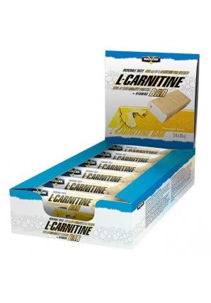 L-carnitine bar 24 шт 35 гр (Maxler)