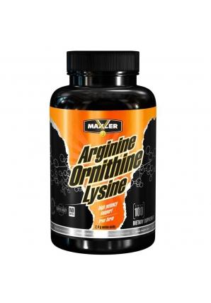 Arginine Ornithine Lysine 100 капс (Maxler)