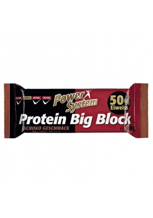 Protein Big Block 1 шт 100 гр (Power System)
