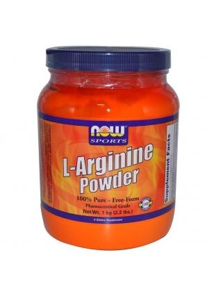 L-Arginine Powder 1 кг  (NOW)