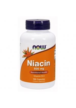 Niacin 500 мг 100 капс (NOW)