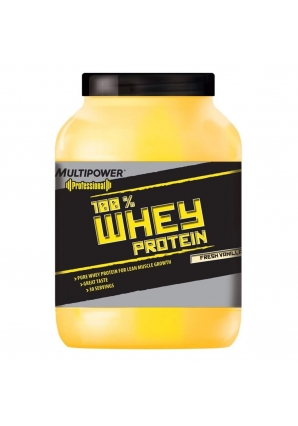100% Whey protein 908 гр. (Multipower)