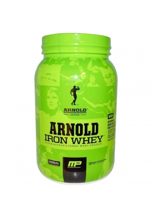 Arnold Iron Whey 908 гр (MusclePharm)