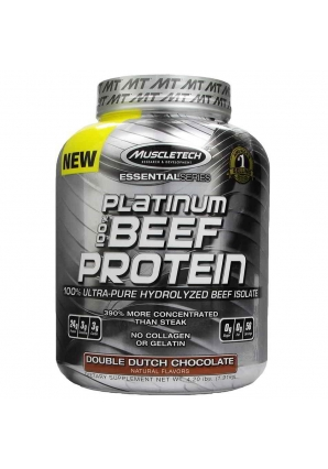 Platinum 100% Beef Protein 1816 гр (MuscleTech)