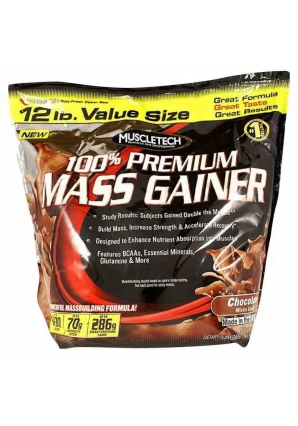 100% Premium Mass Gainer 5400 гр. 12lb (Muscletech)