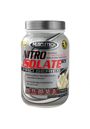 Nitro Isolate 65 Pro Series 908 гр. (MuscleTech)