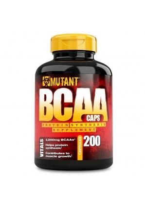 BCAA 200 капс (Mutant)