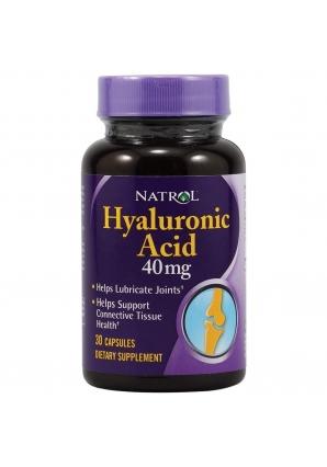 Hyaluronic Acid 40 мг 30 капс (Natrol)