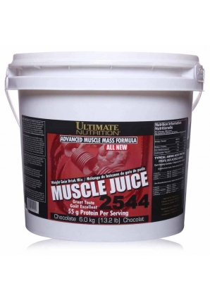 Muscle Juice 2544  6000 гр - 13.2lb (Ultimate Nutrition)