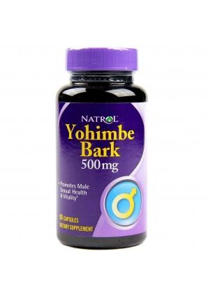 Yohimbe Bark 500 мг 90 капс (Natrol)