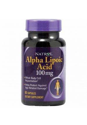 Alpha Lipoic Acid 100 мг 60 капс (Natrol)