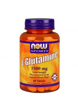 L-Glutamine 1500 мг 90 табл (NOW)