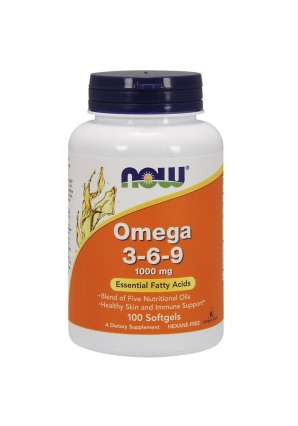 Omega 3-6-9 1000 мг 100 капс (NOW)