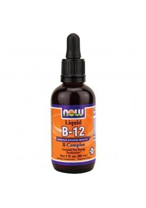 B-12 Complex Liquid 60 мл - 2 oz (NOW)