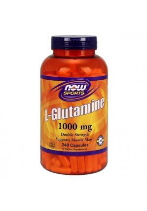 L-Glutamine 1000 мг 240 капс (NOW)