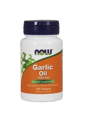 Garlic Oil 1500 мг 100 гель-капс (NOW)