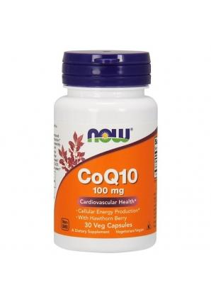 CoQ10 100 мг 30 капс (NOW)
