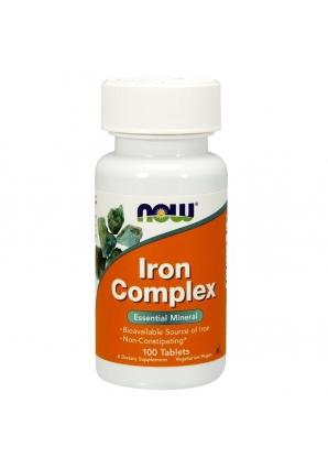 Iron Complex 100 табл (NOW)