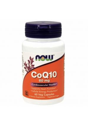 CoQ10 60 мг 60 капс (NOW)