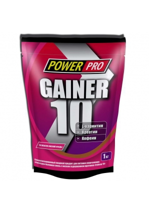 Gainer 10 1000 гр (Power Pro)