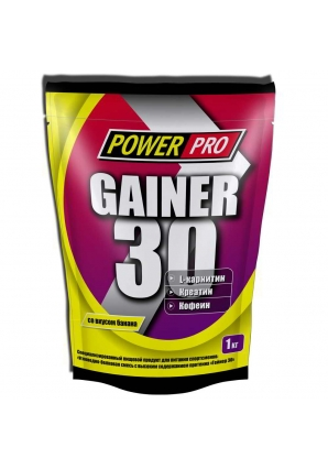 Gainer 30 1000 гр (Power Pro)