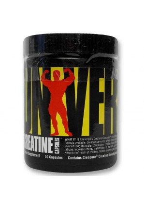 Creatine Capsules 50 капс (Universal Nutrition)
