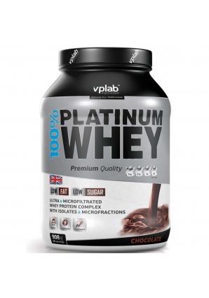 100% Platinum Whey 908 гр (VPLab)