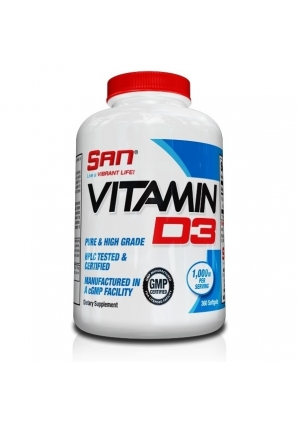 Vitamin D3 360 капс (SAN)