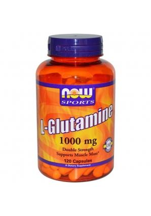 L-Glutamine 1000 мг 120 капс (NOW)