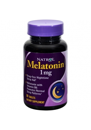 Melatonin 1 мг 90 табл (Natrol)