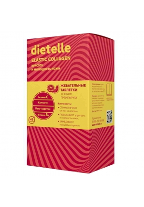 Dietelle Elastic Collagen 42 табл (Аквион)