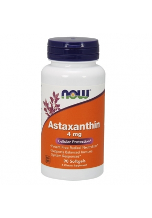 Astaxanthin 4 мг 90 капс (NOW)