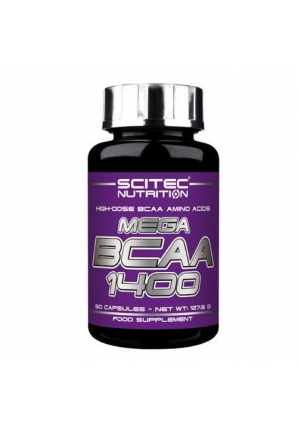 Mega BCAA 1400 90 капс (Scitec Nutrition)