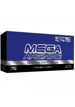Mega Arginine 120 капс (Scitec Nutrition)