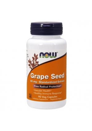 Grape Seed 60 мг 90 капс (NOW)