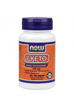 7-KETO 100 мг 30 капс (NOW)