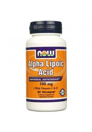 Alpha Lipoic Acid 100 мг 60 капс (NOW)