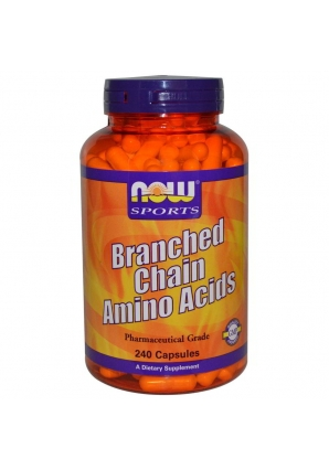 Branched Chain Amino Acids 240 капс (NOW)